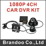 Russische Menu 4CH Full HD 1080P Car DVR, Support 3G en GPS, WiFi Auto Downloading Model BD-310