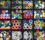 カスタム円形の多彩なPVC Wraping管