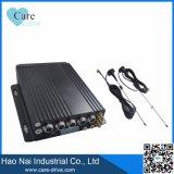 video móvil de Digitaces del vehículo de 4-CH HD con dos módulos incorporados de las tarjetas 4G GPS WiFi del SD