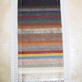 Litchiの穀物模造PVCスポンジの革PVC上塗を施してある多ファブリック