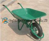 Ручная тележка с одним инструментом колеса для кургана Wb6414 сада