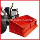 El enganche de 3 puntos, tractor posterior transporte Carrier, caja de transporte