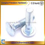 Zink om de Hoofd Vierkante Bout DIN603 wordt geplateerd die van het Vervoer van de Hals