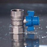 / Conectores de acero inoxidable de la parte caliente de la venta bola de latón de la válvula PN30 Tornillo / Válvulas