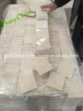 Белые мраморные каменной мозаики