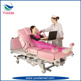 Ldr van de Gynaecologie van de medische en Apparatuur van het Ziekenhuis Automatisch Bed