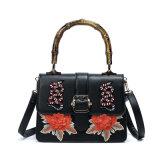 O vintage do bordado floresce bolsas do tipo da forma do saco de ombro dos pássaros