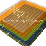 壁および屋根ふきFRPの台形波ポリエステルとして使用されるガラス繊維のパネル