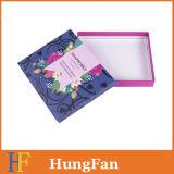 Het eenvoudige Vakje van de Gift van het Document van de Structuur/het PromotieVakje van het Document voor de Verpakking van de Gift