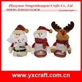 Vaso di biscotto di natale della decorazione di natale (ZY15Y043-1-2)