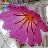 Aufblasbare Blume der Finego Partei-Dekoration-riesige Hochzeits-Beleuchtung-LED