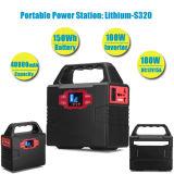 fuente portable de energía solar 110V/220V de la energía solar del generador de la energía solar 100W