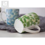 taza blanca de la taza/consumición de la taza/té de la leche de la porcelana de la carrocería 11oz