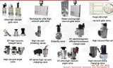 Vakuumeckventil mit Faltenbalgen/von Hand betriebenes/Vakuumventil-Gefäß /End mit kupferner Dichtungs-Mütze