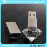 호화스러운 디자인 다이아몬드 수정같은 USB 섬광 드라이브 (ZYF1531)