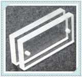 Componentes de precisión óptica Icc Venta al por mayor personalizada Dimesion cristal de zafiro CaF2 Ventana de vidrio