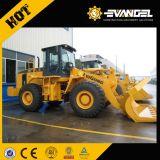 Maquinaria móvil de tierra cargador de la rueda de Liugong de 5 toneladas (CLG856)