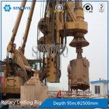TR360D'engin de forage rotatif hydraulique pour la construction de fondation