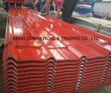工場屋根ふきのシート材料Gi/PPGIは電流を通された鋼鉄コイルをPrepaintedか、または0.15mm-2.0mm*1000/1250mm Z30-Z100をめっきする