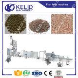 Linha de produção de flutuação da alimentação dos peixes da capacidade grande