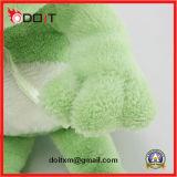 De grote Groene Kikker van Ogen vulde het Dierlijke Stuk speelgoed van de Pluche
