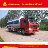 HOWO 6X4 9m3 대량 시멘트 트럭 분말 물자 유조 트럭