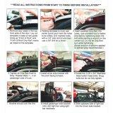 voor 1999-2006 Chevrolet Silverado en Gmc zetten de Siërra Dak de Uitrusting van de Steun voor LEIDENE 50inch Lichte Staaf op