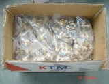 T riducentesi d'ottone di Nichel-Placcatura per il tubo di Pex-Al-Pex di Ktm