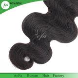 Unprocessed оптовые естественные черные волосы 100% бразильянина девственницы цвета 1b#