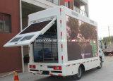 Chery屋外広告のトラック4X2移動式LEDの手段6トンの