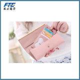 Портмоне кредитной карточки повелительницы Портмона высокого качества кожаный