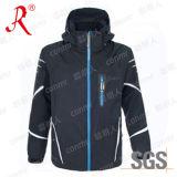 Jaqueta de esqui no Inverno impermeável com capuz (QF-6131)