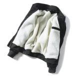 패션 모델 모직 지퍼를 가진 더 두꺼운 겨울 패치 재킷