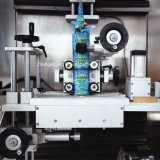 Máquina redonda plástica automática cheia do Labeler da garrafa de água