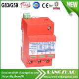 Sistema fotovoltaico con CE y TUV DC1000V-40kA oleada del dispositivo de protección (SPD)