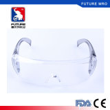 Anti anti lentille protégée UV de PC de verres de sûreté de regain de Scrath avec la FDA Fxa008 de la CE En166
