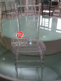CushionのBanquet Clear Resin Chiavari ChairのためのレストランChairs Used