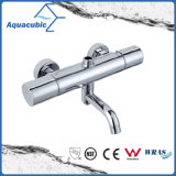Round Bar Mixer Shower Set Válvula termostática com bocal para banheira (AF7366-7)
