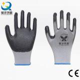 les nitriles du polyester 13gauge ont enduit les gants de travail de sûreté (N7002)