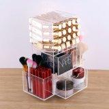 Lustre acrylique fait sur commande de languette vente en gros de stand de crémaillère d'étalage de rotation de 360 degrés