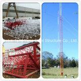 최신 복각 직류 전기를 통한 받침줄 강철 관 이동할 수 있는 원거리 통신 탑