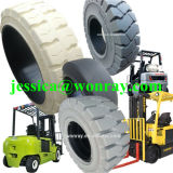 固体タイヤの取り引き形式中国押の安いSoidのフォークリフトのタイヤはパートナーを捜す