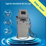 RF+ IPL +Laser de Multifunctionele Machine van de Verwijdering van de Tatoegering met Lage Prijs