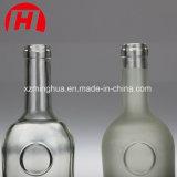Venta al por mayor Shaped única clara de la botella de cristal de vino