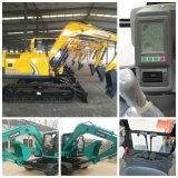 excavador de 5t-14 T de China con la mejor calidad y el mejor servicio