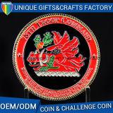Moneta professionale del ricordo del metallo del regalo con il bordo della corda al prezzo della fabbrica