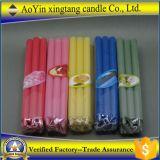 Großhandelsnormale Wachs-Stock-Kerze der Farben-12g für Hauptdekoration