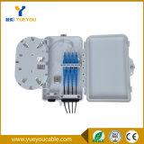 4 Fibras FTTH Caja de Distribucion O Caja Terminal con PLC Splitter1*4 Para Redes Opticas
