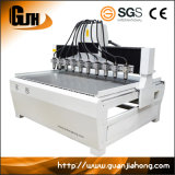 Dt1813-10 Multi-Spindle Pierre Bois plastique acrylique CNC Router Machine