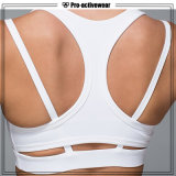 Custom Private Label Fitness Apparel Lady Supplex Yoga Bra